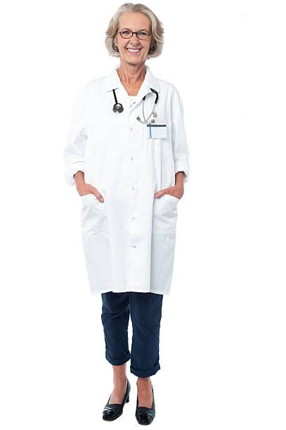 Senior medical professionellen Posieren – Foto