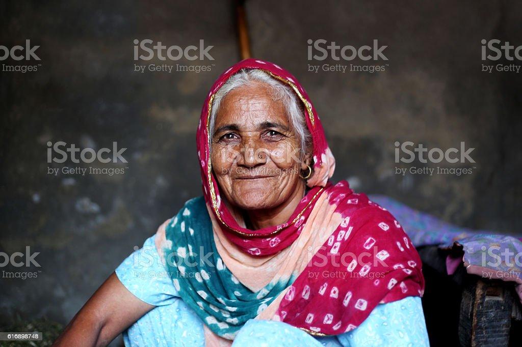 Senior Old Women stock photo
