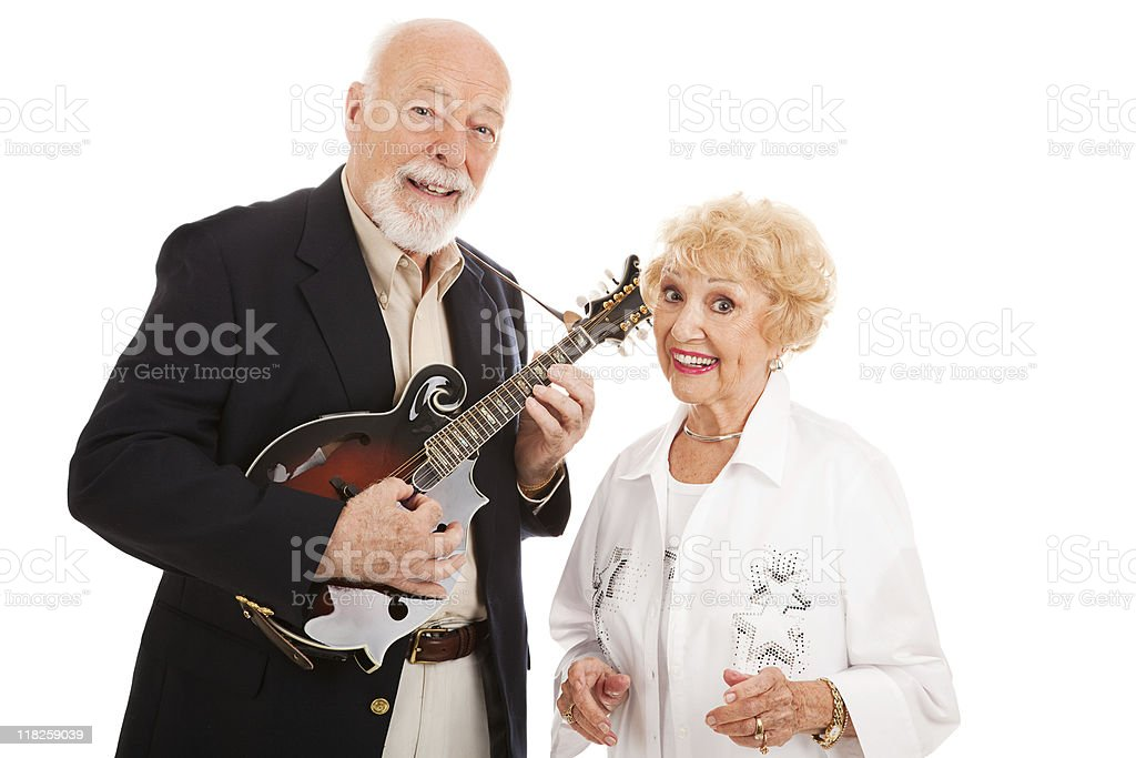 Senior Performers royalty-free stock photo