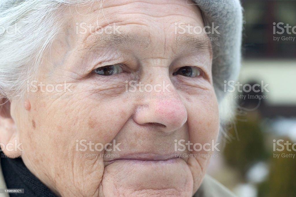 Senior person royalty-free stock photo
