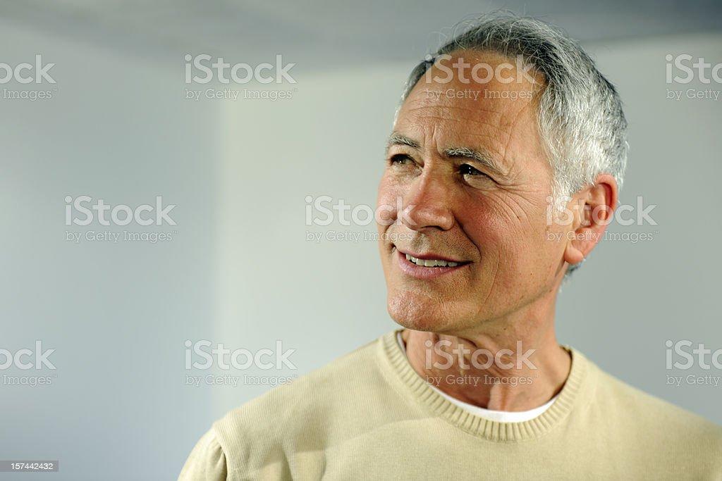 senior royalty-free stock photo