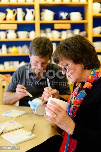 istock Senior Pottery Workshop - Vertical 460921277