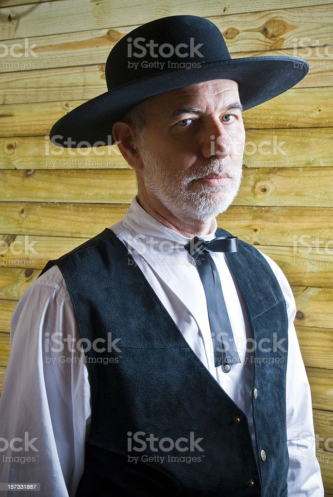 Senior Preacher stock photo