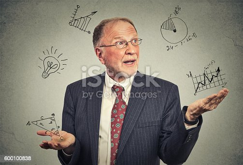 istock Senior professor 600100838