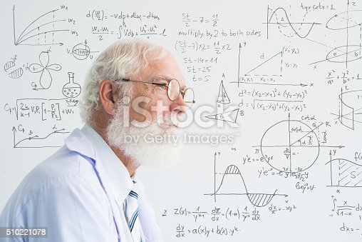 istock Senior scientist 510221078