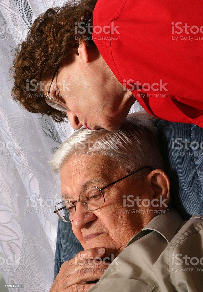 Senior Series: Comfort royalty-free stock photo