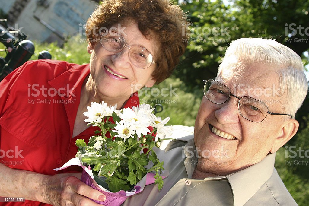 Senior Series: Happy Day royalty-free stock photo