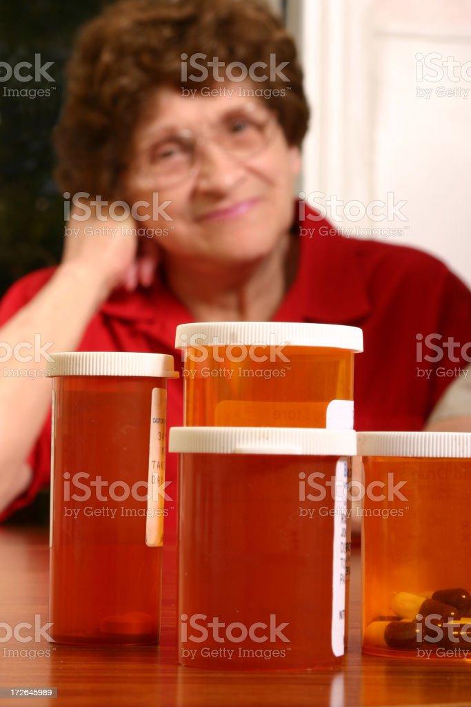 Senior Series: My Medications royalty-free stock photo