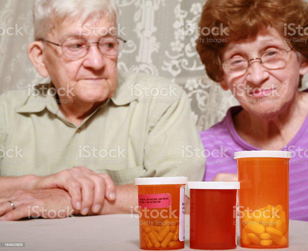 Senior Series:  Prescription Drugs royalty-free stock photo