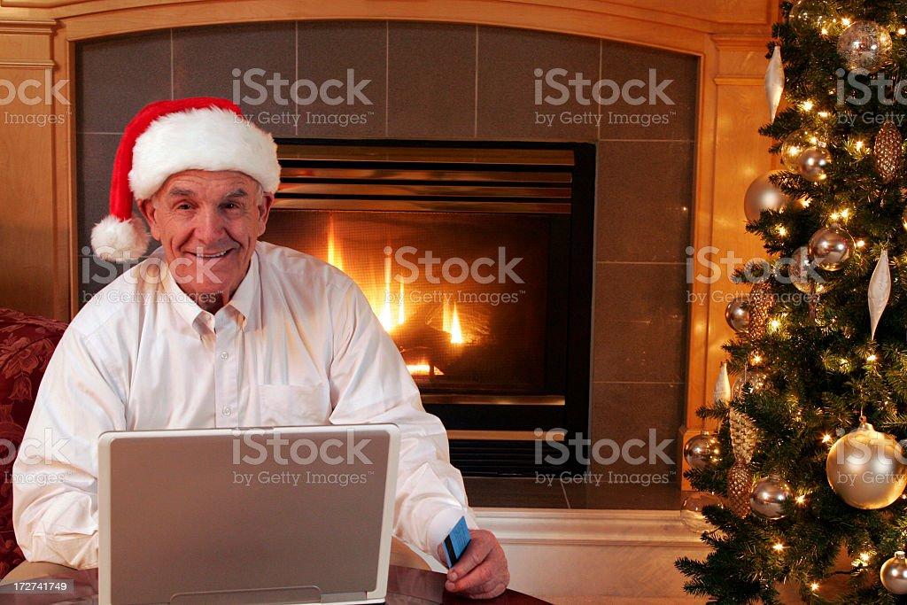 Senior Shopper royalty-free stock photo