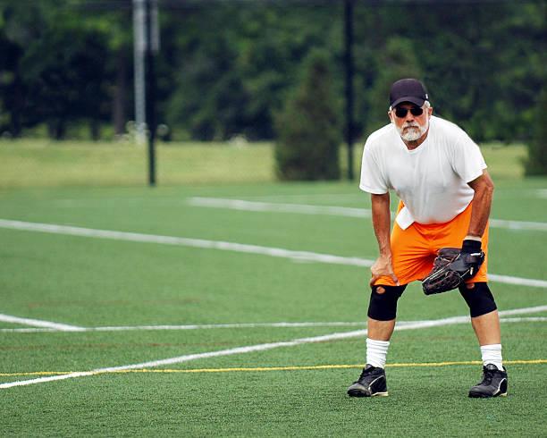 Senior Joueur de Softball - Photo