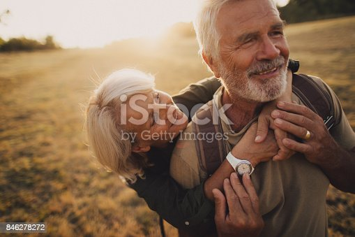 istock Senior Tenderness 846278272