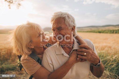 istock Senior tenderness 866381612