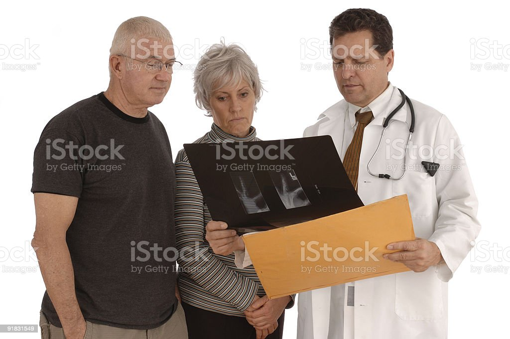Senior Test Results royalty-free stock photo