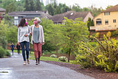 istock Senior woman and her adult daughter enjoying the outdoors together during Coronavirus 1256012767