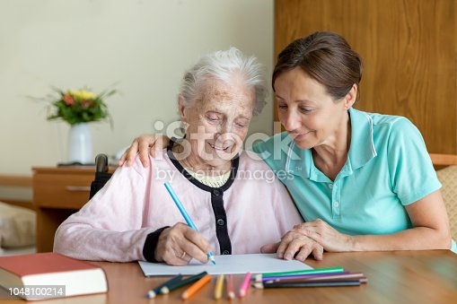 Senior Woman - Dementia and Occupational Therapy