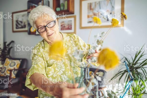 Photo of Senior woman at home