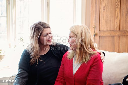 944372620istockphoto Senior woman celebrate mother's day with her family 944376232