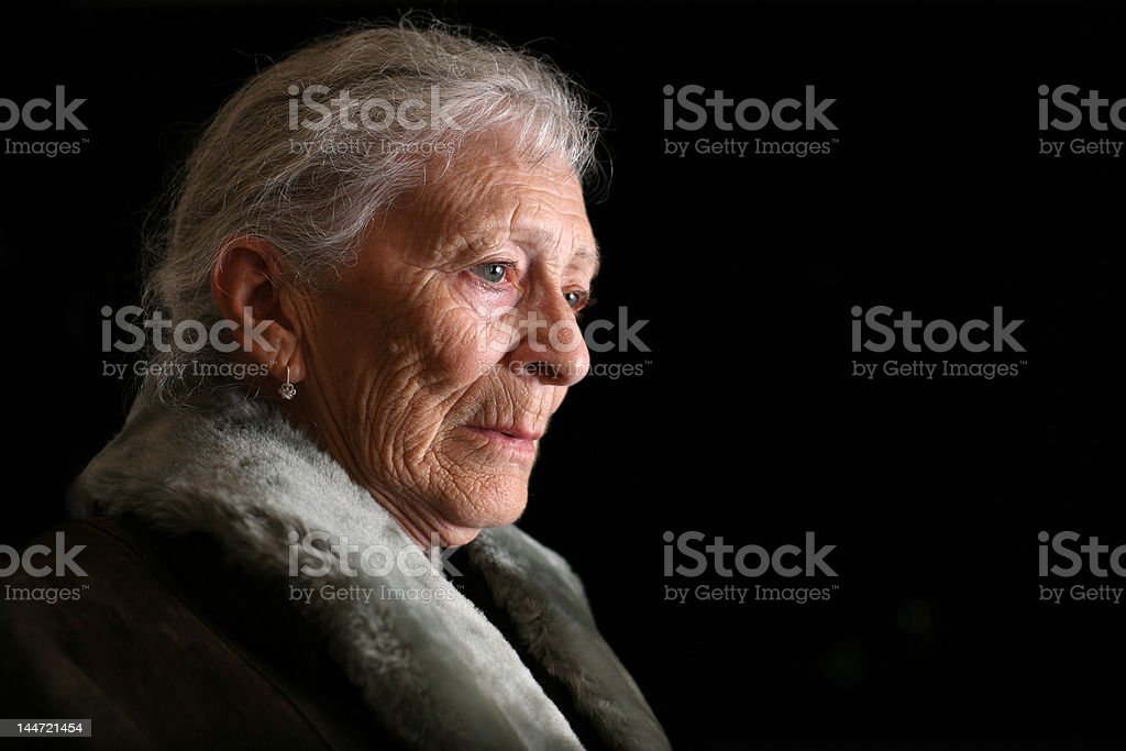 Senior Frau fallen – Foto