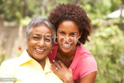istock Senior Woman Hugging Adult Daughter 104451350