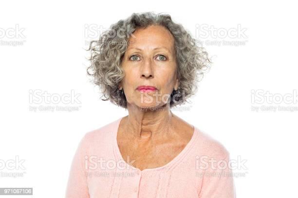 Senior woman in casuals looking serious picture id971067106?b=1&k=6&m=971067106&s=612x612&h=ufzehd2kad0e87djoqb3gkfvqxagjzg81lhr4cjubtg=