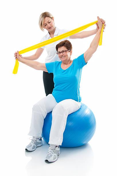 Senior Frau im Fitness – Foto