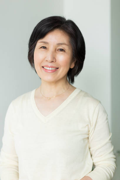Senior woman Person japanese ethnicity stock pictures, royalty-free photos & images