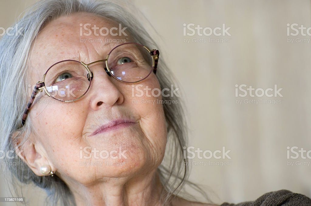 Senior woman. stock photo