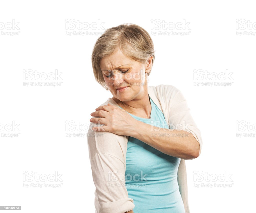 Senior woman stock photo