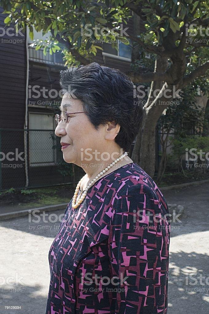 여자 노인 royalty-free 스톡 사진