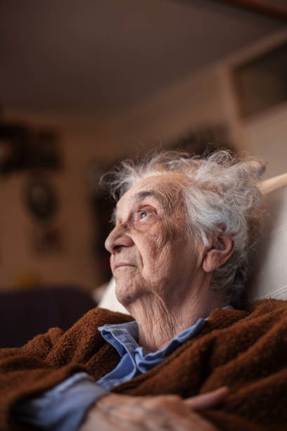 senior woman. - day in the life series stock pictures, royalty-free photos & images