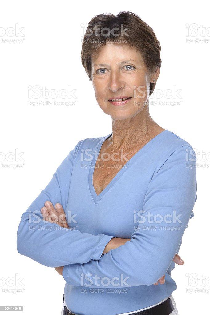 Senior Frau Lizenzfreies stock-foto