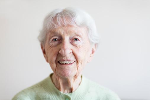 Senior Woman Portrait Stock Photo - Download Image Now