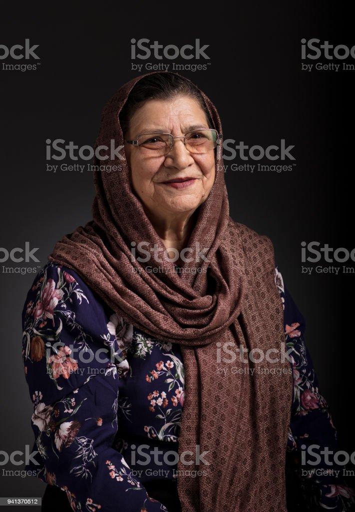Senior Frau Porträt – Foto