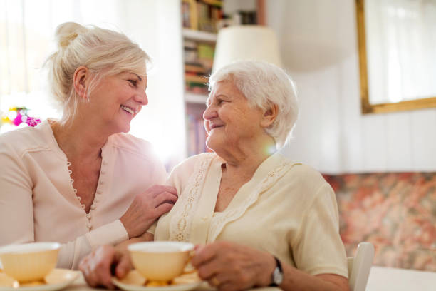 Senior woman spending quality time with her daughter picture id1145228505?b=1&k=6&m=1145228505&s=612x612&w=0&h=jhzwkym212ehev dagr6dswtvywmequatgj6jt7quzw=