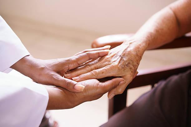 Senior woman talking with black doctor in hospice picture id538176790?b=1&k=6&m=538176790&s=612x612&w=0&h=kwlcrun12crq2tm88zc2hrohjfihncj3lzb5g9pcmn0=