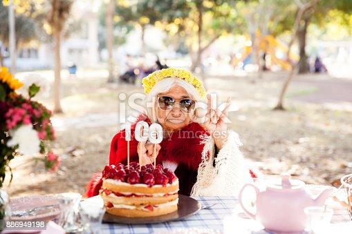 Senior women birthday