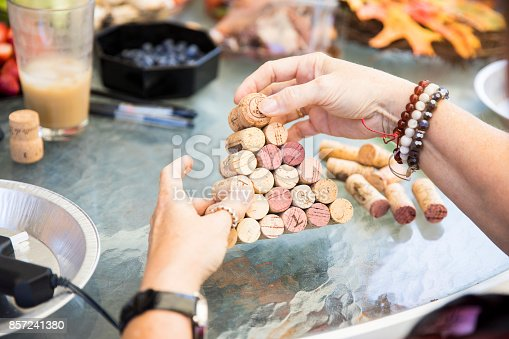 istock Senior women crafting 857241380
