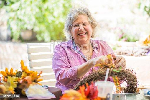 istock Senior women crafting 857243540