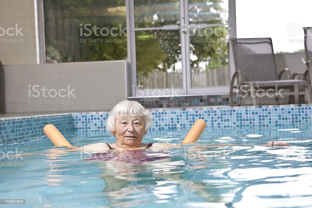 Aqua Fitness Aktiver Senior – Foto