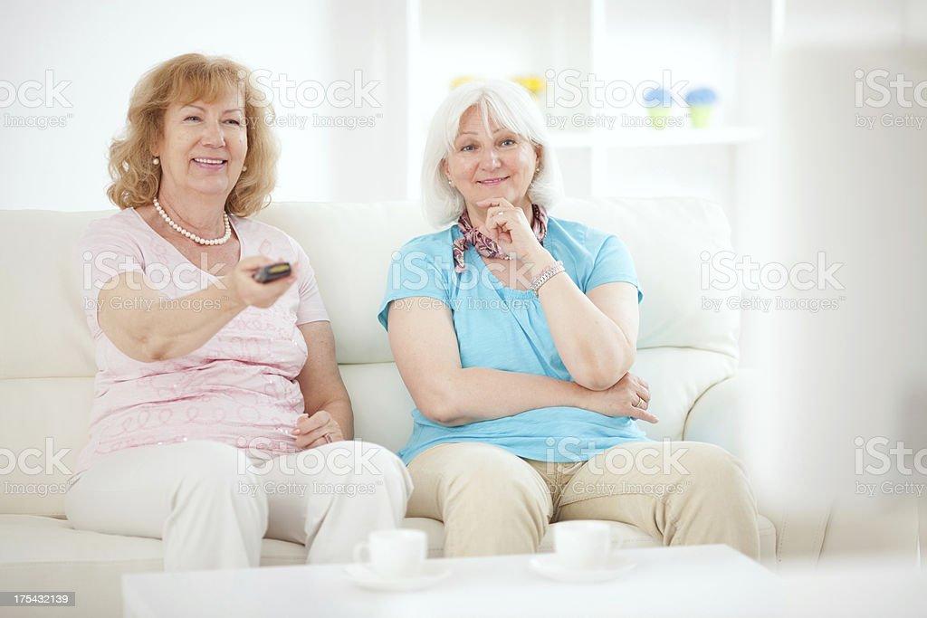 Senior women. royalty-free stock photo