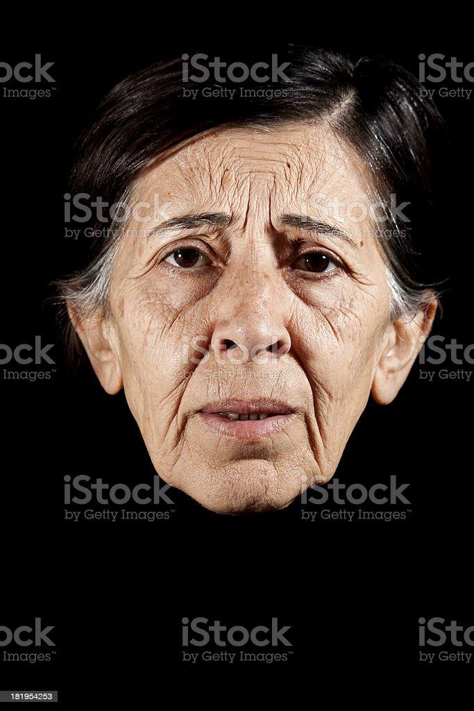 senior women, real human adult photo royalty-free stock photo