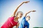 istock Senior Yoga. 1020523870