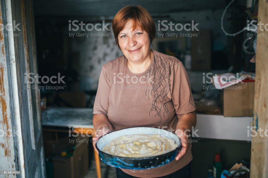 Seniorentrepreneur stock photo
