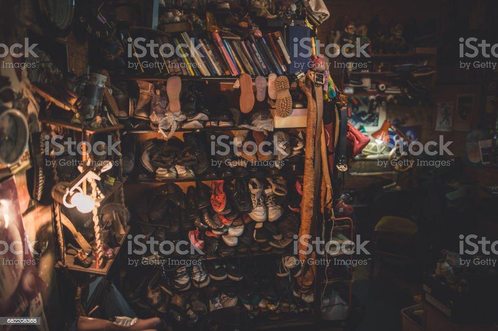 Seniorpreneur - Shomaker stock photo