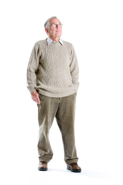 seniors: contemplation - corduroy stock pictures, royalty-free photos & images