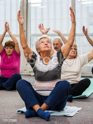 1047537292istockphoto Seniors Doing Pilates Exercises 170122005