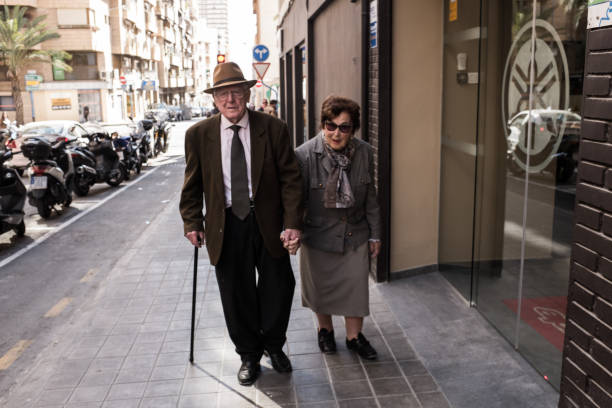 Senioren machen einen Ausflug – Foto