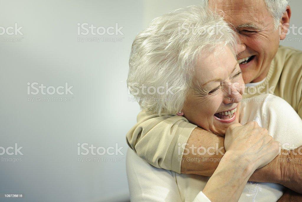 seniors stock photo