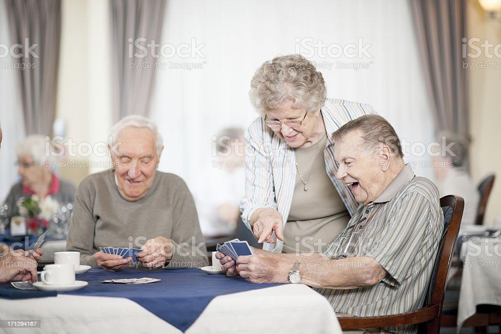 Seniors royalty-free stock photo
